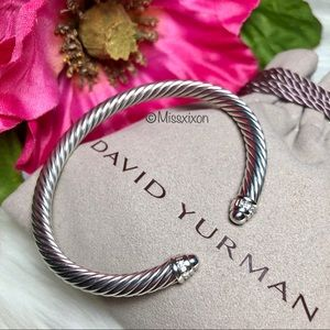❤️David Yurman Cable Bracelet with Diamonds
